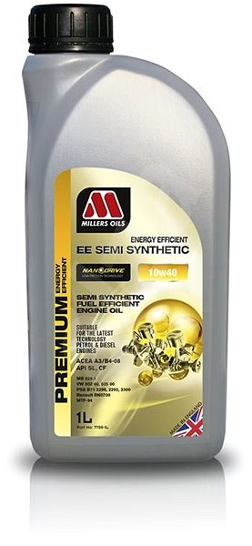 Millers Oils NANODRIVE - EE Semi Synthetic 10W-40 1l - Motorový olej
