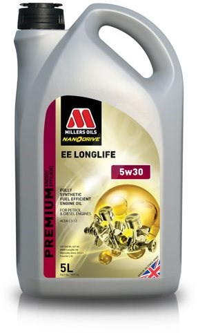 Millers Oils NANODRIVE - EE LONGLIFE 5W-30 5l - Motorový olej