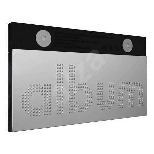 "10"" LCD Album Q42008 stříbrný  - Digitální fotorámeček"