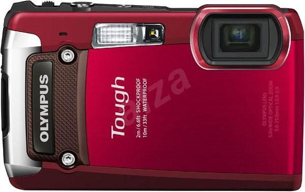 Olympus TOUGH TG-820 red - Digitální fotoaparát