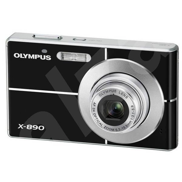 Olympus Mju X-890 černý - Digitální fotoaparát