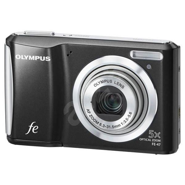 Olympus FE-47 černý - Digitální fotoaparát