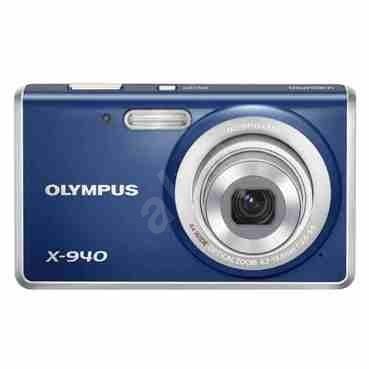 Olympus X-940 modrý - Digitální fotoaparát