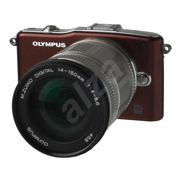Olympus PEN E-PM1 + objektiv 14-150mm brown/ silver - Digitální fotoaparát