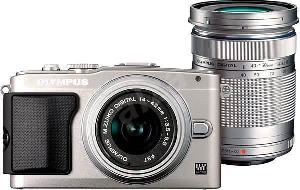 Olympus PEN E-PL5 + objektivy 14-42mm II R silver + 40-150mm R silver - Digitální fotoaparát
