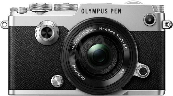 Olympus PEN-F stříbrný+ 14-42mm EZ - Digitální fotoaparát
