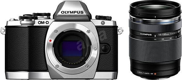 Olympus E-M10 silver/black + 14-150 II - Digitální fotoaparát