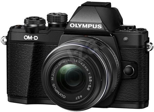 Olympus E-M10 Mark II black/black + 14-42mm II R - Digitální fotoaparát
