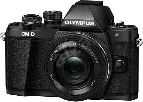 Olympus E-M10 Mark II black/black + ED 14-42mm EZ - Digitální fotoaparát