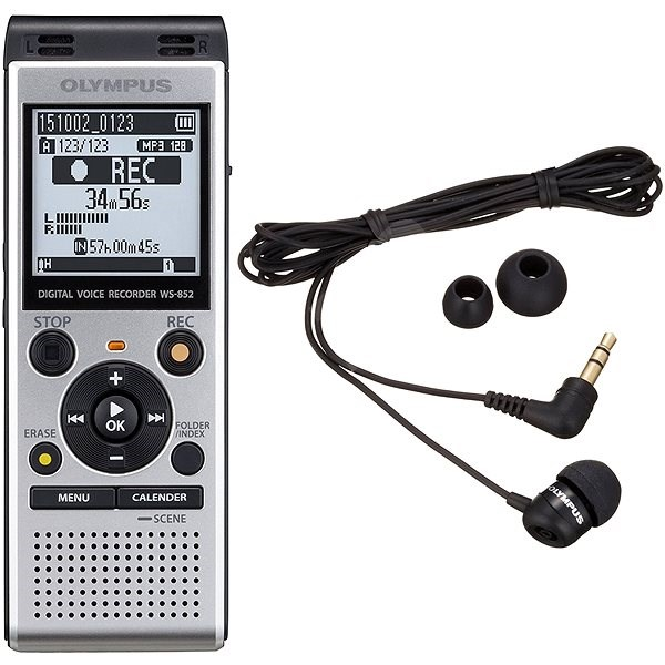 9ba2d5eb962 Olympus WS-852 + TP-8 Telephone Pickup - Diktafon | Alza.cz