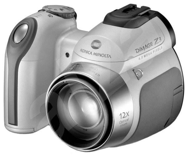 Konica Minolta DiMAGE Z3, 4mil., 12x opt. / 4x digit. zoom - stříbrný (silver) -