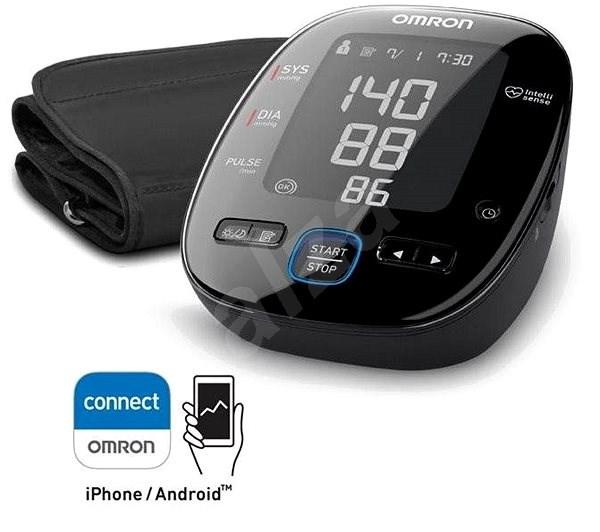 OMRON MIT5 S Connect s bluetooth připojením na Android/iOS zařízení - Tlakoměr