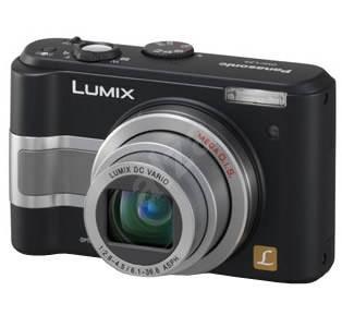 """Panasonic LUMIX DMC-LZ5EG-K černý (black), CCD 6 Mpx, 6x zoom, 2.5"""" LCD, 2x AA, SD/ MMC, stabilizáto - Digitální fotoaparát"""