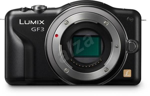 Panasonic DMC-GF3EG-K černý (pouze tělo) - Digitální fotoaparát