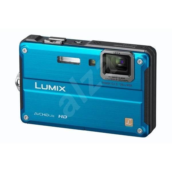 Panasonic LUMIX DMC-FT2EP-A modrý - Digitální fotoaparát