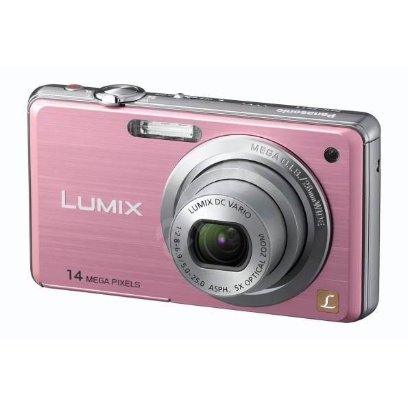 Panasonic LUMIX DMC-FS11EP-P růžový - Digitální fotoaparát