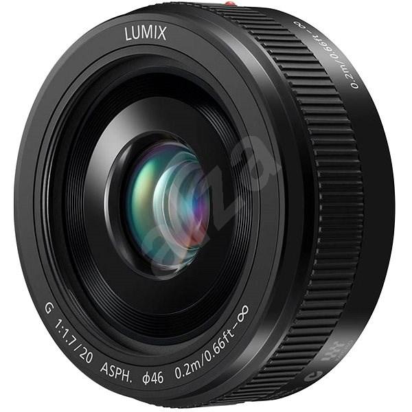 Panasonic Lumix G 20mm f/1.7 černý - Objektiv