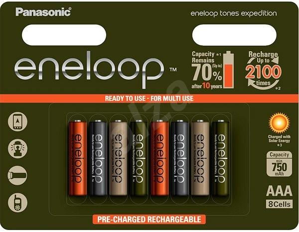 Panasonic AAA nabíjecí baterie NI-MH - Baterie pro fotoaparát
