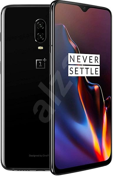OnePlus 6T 6GB/128GB černá lesklá - Mobilní telefon