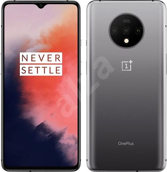 OnePlus 7T gradientní stříbrná - Mobilní telefon