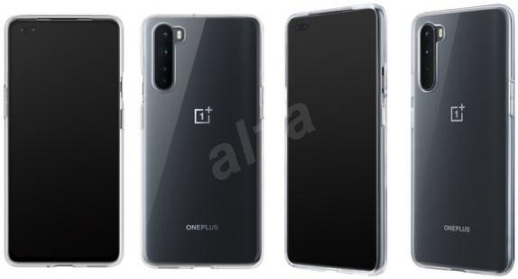 OnePlus Nord Clear Bumper Case - Pouzdro na mobil