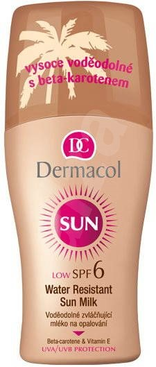 DERMACOL Sun Water Resistant Sun Milk SPF 6 200 ml - Sun Spray