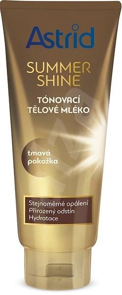ASTRID SUMMER SHINE Tónovací tělové mléko pro tmavou pokožku 200 ml - Tělové mléko