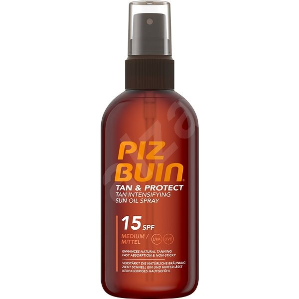 PIZ BUIN Tan & Protect Tan Intensifying Sun Oil Spray SPF15 150 ml - Opalovací sprej