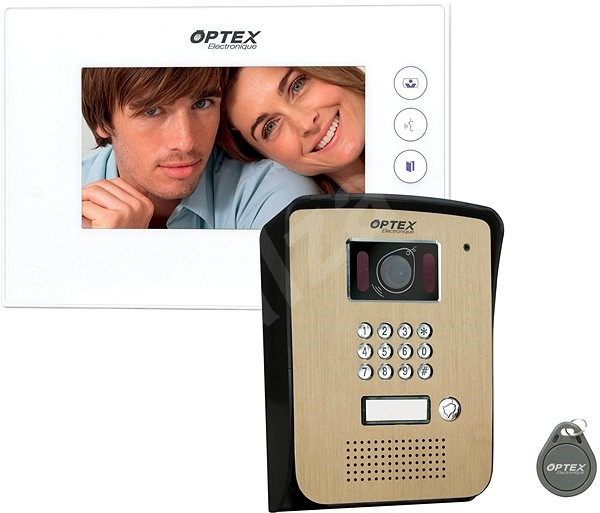 OPTEX 990275 7'' LCD - Videotelefon
