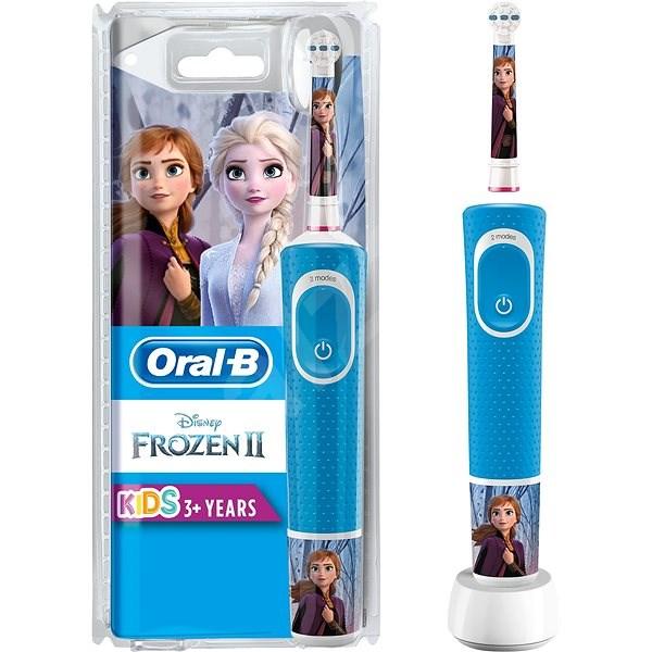 Oral-B Vitality Kids Frozen - Elektrický zubní kartáček pro děti