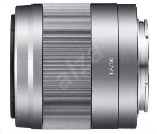 Sony 50mm f/1.8 stříbrný - Objektiv