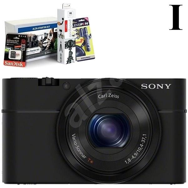 SONY DSC-RX100 + Alza Foto Video Starter Kit 2019 - Digitální fotoaparát