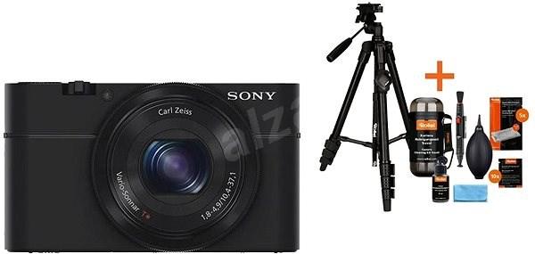 SONY DSC-RX100 + Rollei Foto Starter Kit 2 - Digitální fotoaparát