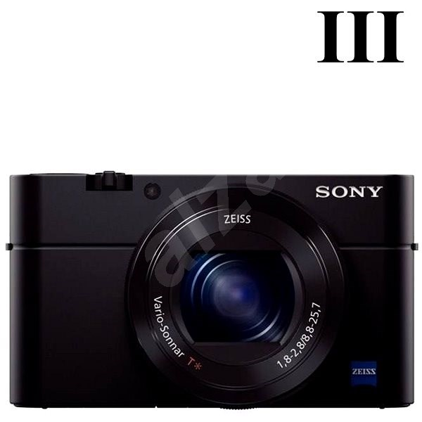 SONY DSC-RX100 III - Digitální fotoaparát