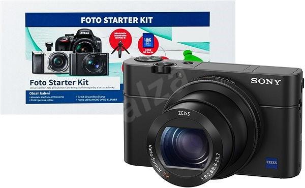 SONY DSC-RX100 IV + Alza Foto Starter Kit - Digitální fotoaparát