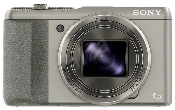 Sony CyberShot DSC-HX50 stříbrný - Digitální fotoaparát