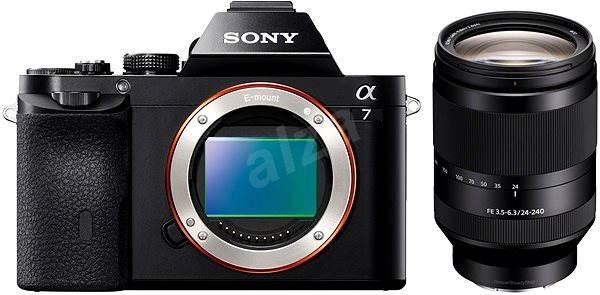 Sony Alpha 7 + objektiv 24-240mm - Digitální fotoaparát
