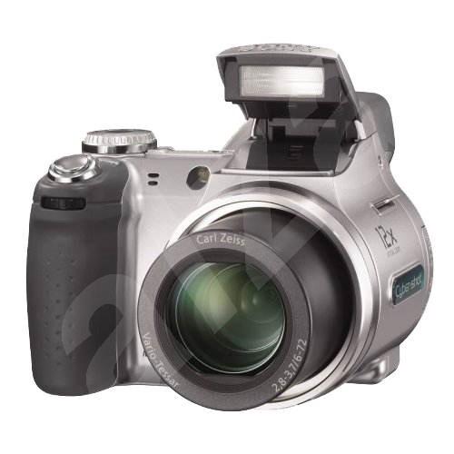 "Sony CyberShot DSC-H2, CCD 6 Mpx, 12x zoom, 2"" LCD, 2x AA, MS, stabilizátor - Digitální fotoaparát"