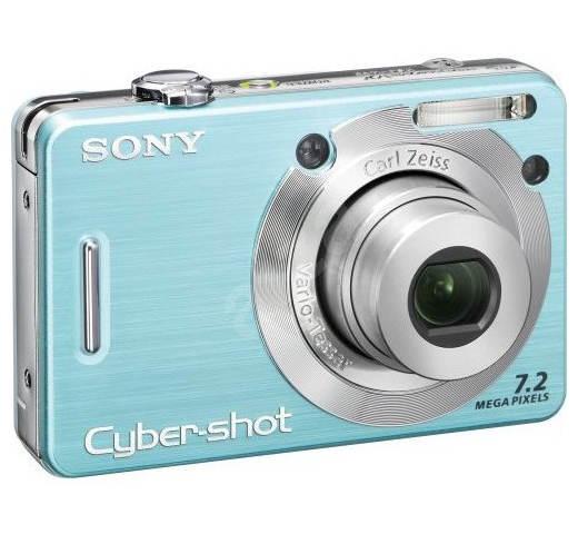 Digitální fotoaparát Sony CyberShot DSC-W55L - Digitální fotoaparát