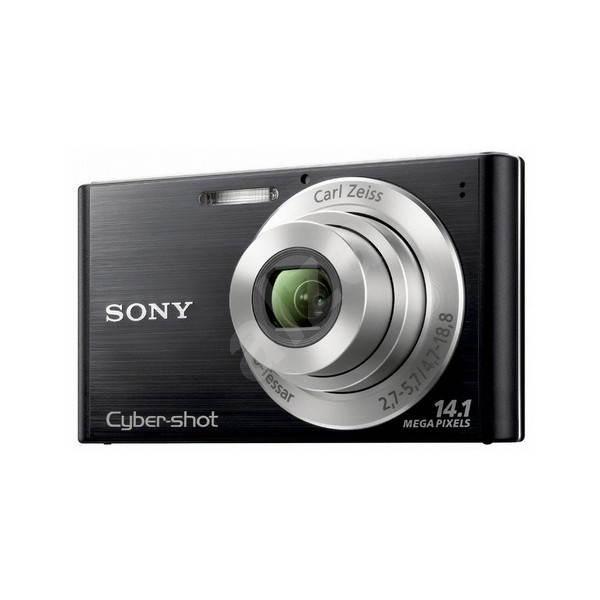 Sony CyberShot DSC-W320B černý + míč + dres - Digitální fotoaparát