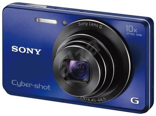 Sony CyberShot DSC-W690L modrý - Digitální fotoaparát