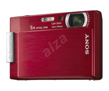 Digitální fotoaparát Sony CyberShot DSC-T100/R - Digitální fotoaparát