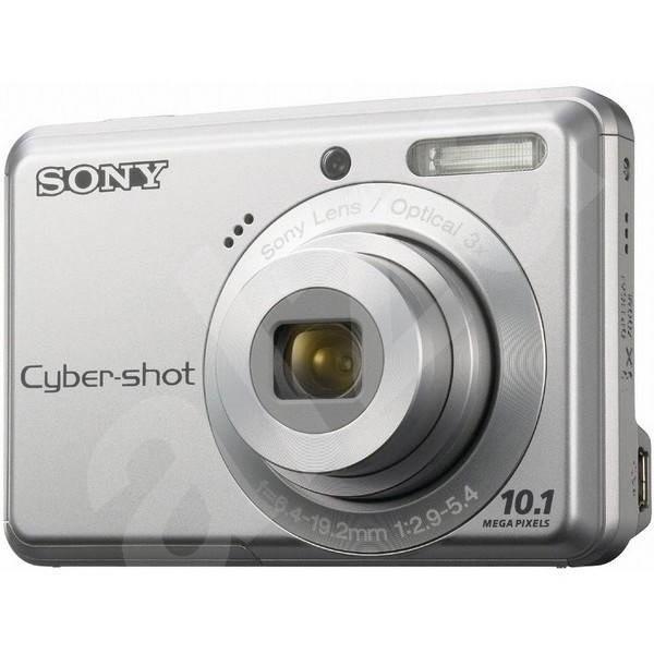 Sony CyberShot DSC-S930S stříbrný - Digitální fotoaparát