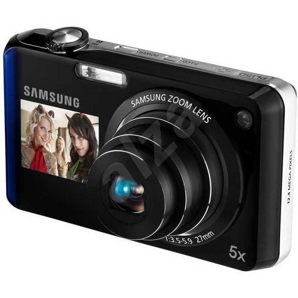 Samsung PL150 černo-modrý - Digitální fotoaparát