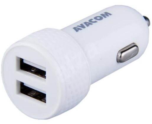 AVACOM autonabíječka USB-C, bílá - Nabíječka do auta