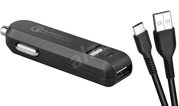 AVACOM CarMAX 2 nabíječka do auta, USB-C, černá - Nabíječka do auta