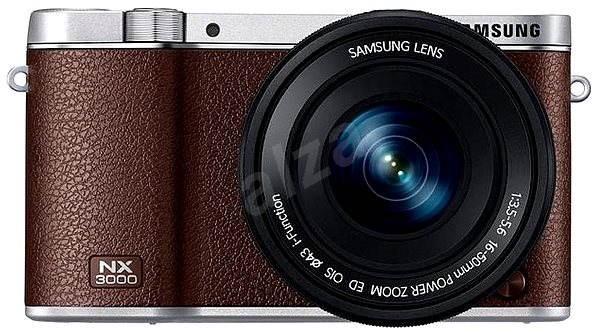 Samsung NX3000 + 16-50mm hnědý - Digitální fotoaparát