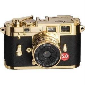 Minox DCC Leica M3 Gold Edition - Digitální mini fotoaparát
