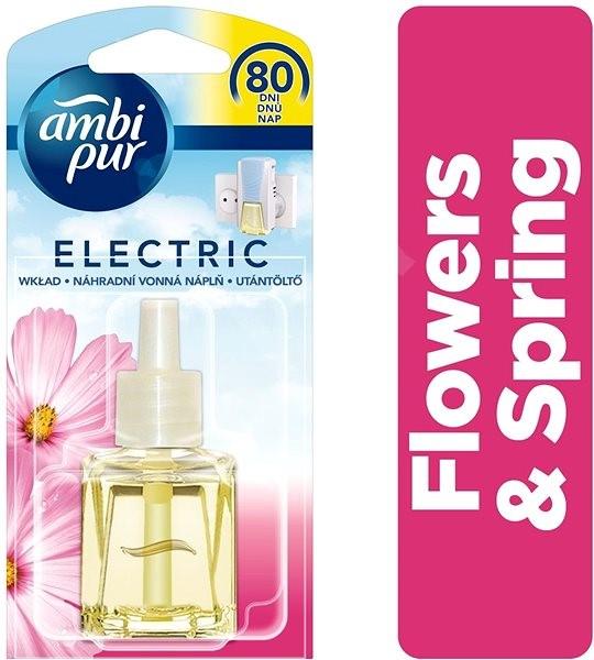 AMBI PUR Electric Flowers & Spring náplň 20 ml - Osvěžovač vzduchu