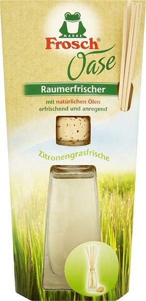 FROSCH Oase aroma difuzér Citrusová tráva 90 ml - Vonné tyčinky